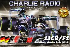 13 Charlie Radio / F1